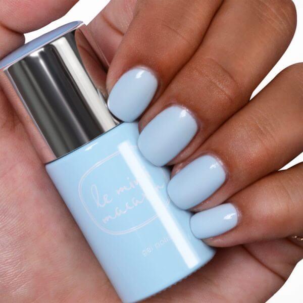 Gélový lak Blue Vanilla
