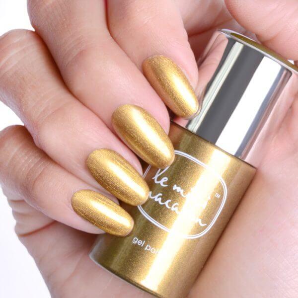 Gélový lak Golden glow