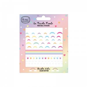 Nechtové dekoračné nálepky Rainbow